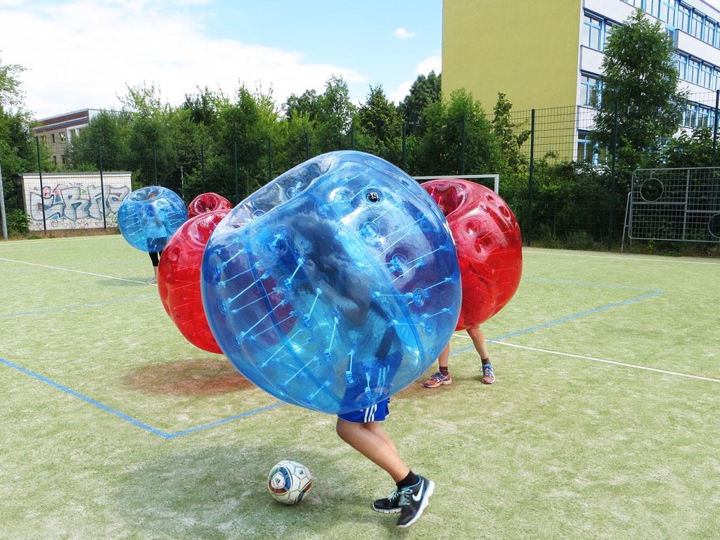 Bubble Soccer Vermietung Leipzig
